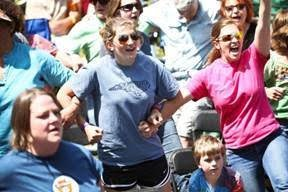 MerleFest is meant for dancing because sometimes it is impossible to stay seated! Photo courtesy of MerleFest.