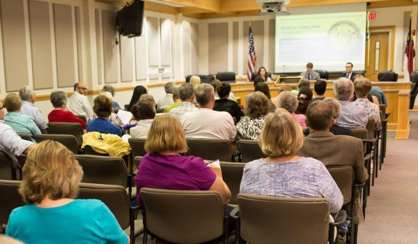 NC BOE Public Hearing in Boone NC