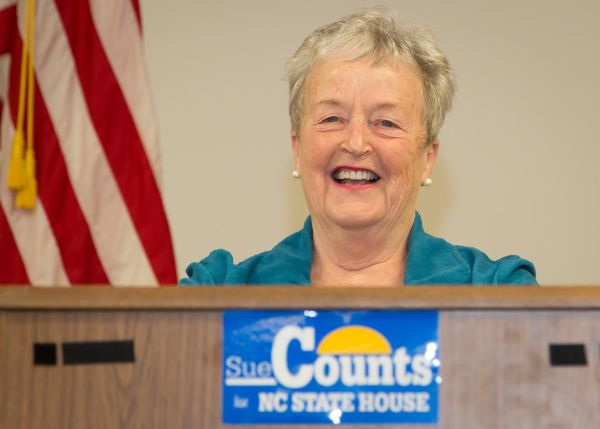 Sue Counts kick off breakfast as a candidate for the N.C. House, District 93.