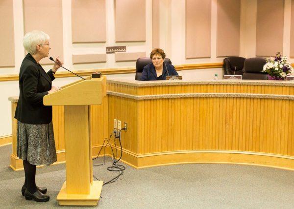 Watauga County Board of Election Supervisor Jane Ann Hodges retirement