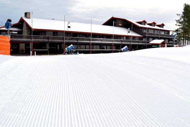 Appalachian Ski Mtn opens Wednesday. Photo by Drew Stanley