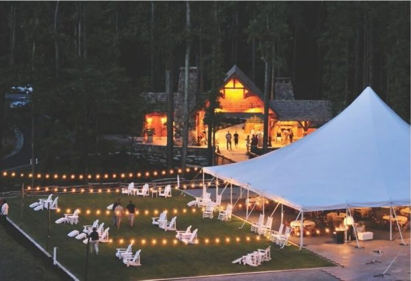 The pavilion at Blue Ridge Mountain Club.