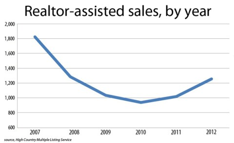 Realtor Assisted Sales By Year