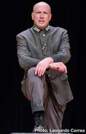 Second-generation Holocaust survivor Roger Grunwald will perform in a one-person play April 30 at 7:30 p.m. in Plemmons Student Union to commemorate Yom HaShoah (Holocaust Memorial Day).