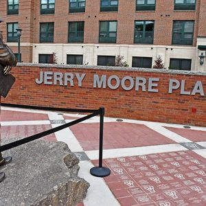 Hall of Fame Coach Jerry Moore Honored with Plaza and Statue Prior to Home Opener Against Elon on Saturday
