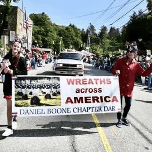 Daniel Boone Chapter of the National Society of the Daughters of the American Revolution in Partnership with Wreaths Across America