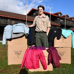 Blowing Rock Resident Jensen Moretz Hosts Coat Drive for Eagle Scout Project During Appalachian Ski Mtn. Preseason Sale