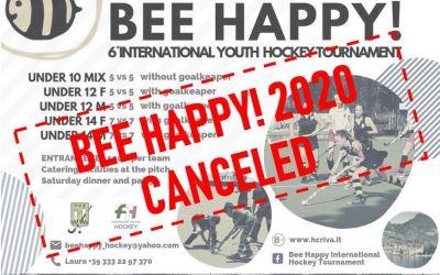BEE HAPPY! 2020 CANCELED