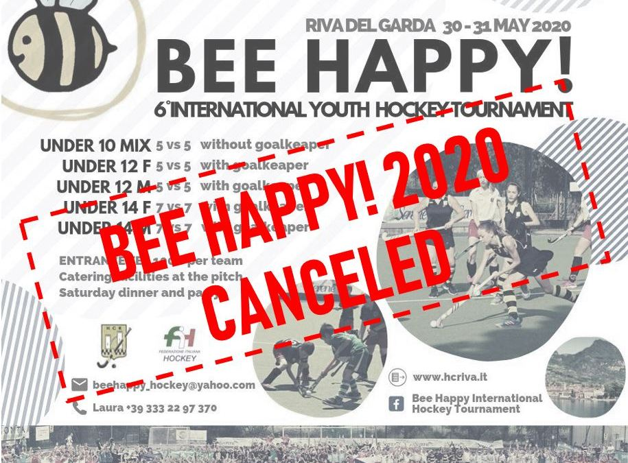 BEE HAPPY! 2020 CANCELED