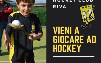 Vieni a giocare a hockey! Unisciti all'Hc Riva!
