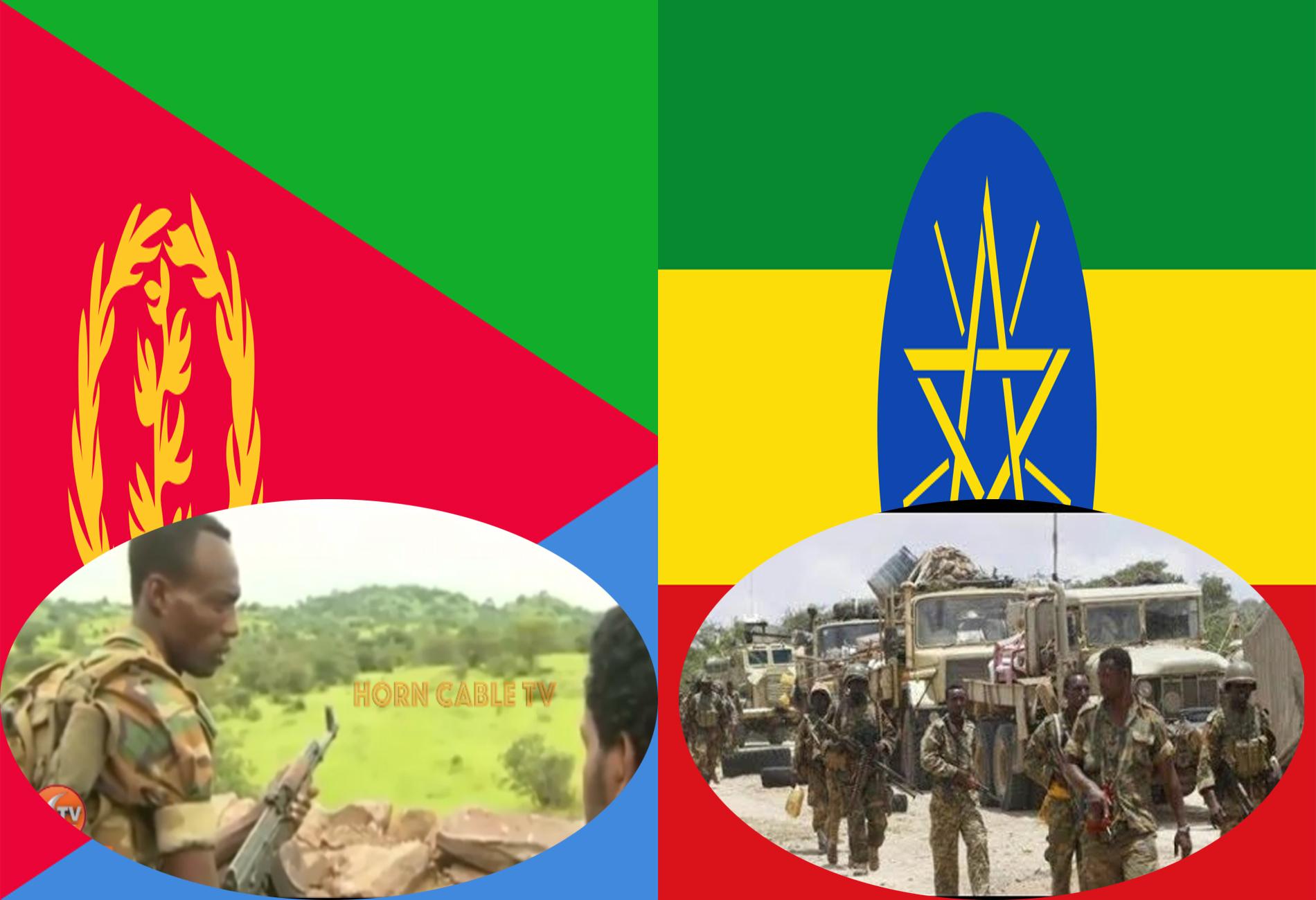 Ethiopia Oo Ciidamadeeda Ka Soo Qaadaysa Xuduudka Eritrea