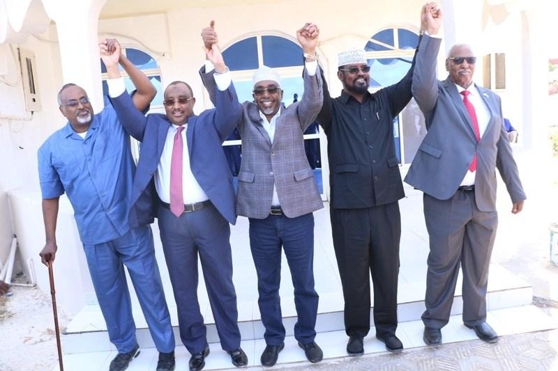 Maamul Goboleedyada Somalia Oo Xidhiidhka U Jaray Dawlada Federaalka Somalia.