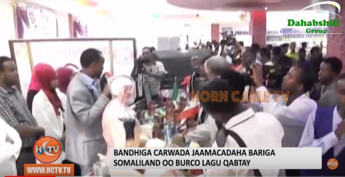 Bandhiga Carwada Jaamacadaha Bariga Somaliland Ayaa Burco Lagu Qabtay