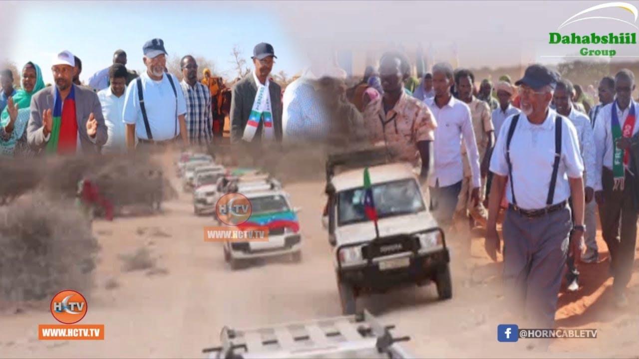 Socdaalkii Wafdiga ONLF oo Gaadhay Degmada Shiilaabo ee Gobolka Qorraxay.