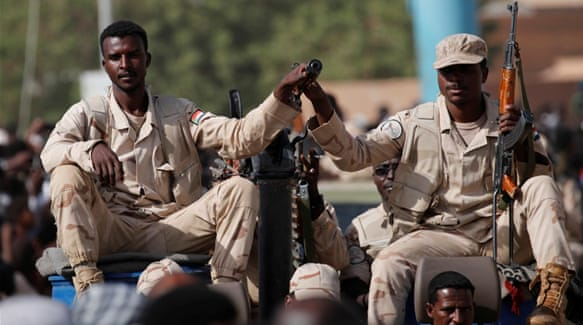 Milatariga Sudan Oo Digniin U Jeediyey Dibadbaxayaaasha Dalkaasi