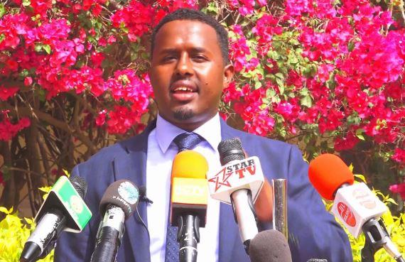 """""""Axmed Geelle wuu Qirtay Deynta Bangiga Faransiiska"""" Madaxtooyada Somaliland."""