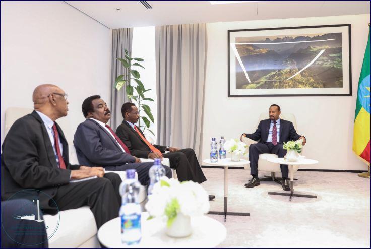 Raysal Wasaaraha Ethiopia Oo Qaabilay Wefti Ka Socda Milatariga Sudan