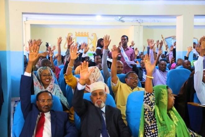 Aqalka Hoose Ee Baarlamaanka Somalia Oo Meel Mariyey Xeerka Batroolka