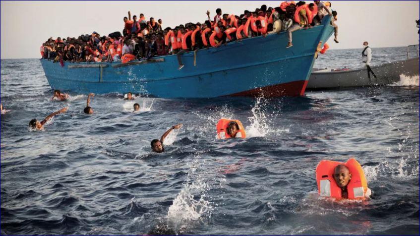 150 Qof Oo Laga Cabsi Qabo Inay Ku Dhinteen Doon Kula Dagtay Badda Mediterranean-ka