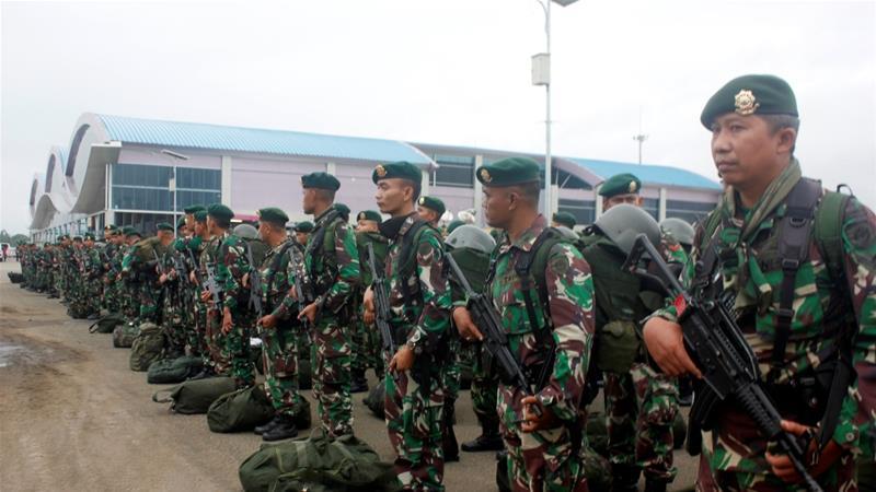 Indonesia Oo Ciidamo U Daadguraysay Gobolka Papua Oo Dibadbaxyo Ku Faafeen