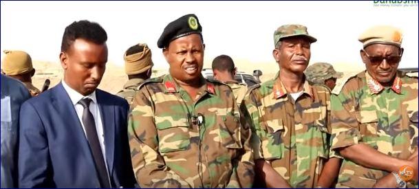 Somaliland: Ciidamo Ka Soo Jeeda Badhan Oo U Diga-rogtay Puntland