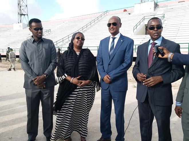 Dowladda Soomaaliya Oo Beenisay In Al-Shabaab Joojiyeen Dhismaha Garoonka Stadium Muqdisho