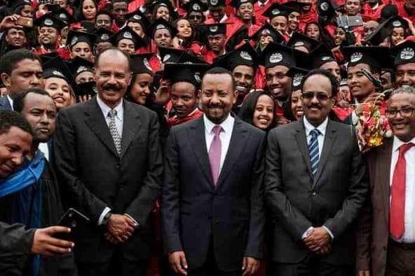 Raysal Wasaaraha Ethiopia  Oo La Shaaciyey Inuu ku Guulaystay Biladda Nabadda Aduunka