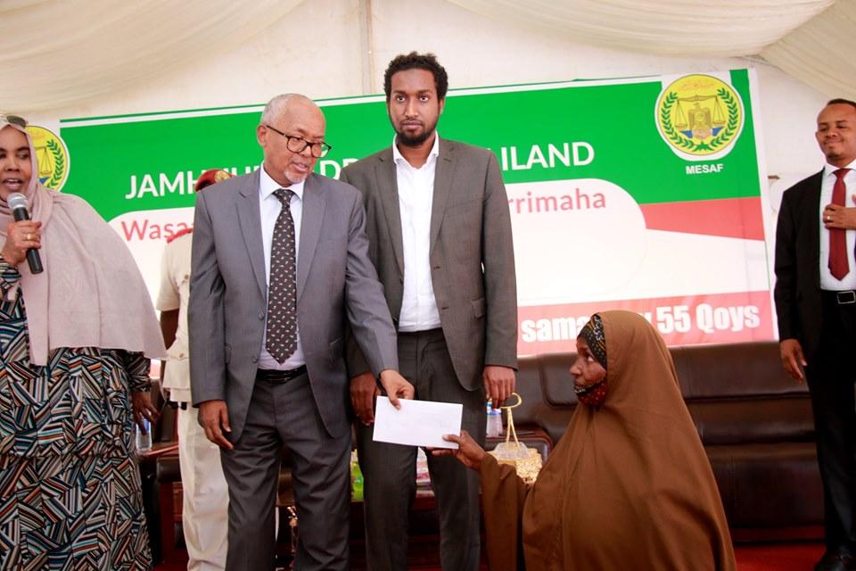 Madaxweyne Ku Xigeenka Somaliland Oo Daah-Furay Mashruuc 50 Qoys Shaqo Loogu Abuuray