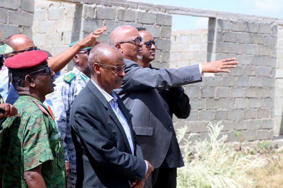Madaxweyne Ku Xigeenka Somaliland Oo Kormeeray Dhismaha Jeelka Boorama