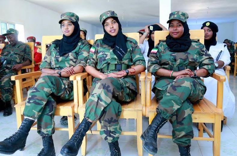 Somaliland: Madaxweynaha Oo Tababbar U Furay Ciidamo Cusub Oo Saraakiilnimo Loo Tababbarayo
