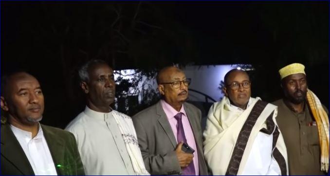 Xisbiyada Mucaaridka Somaliland Oo Caawa Kulan La Yeeshay Guddida Dhexdhexaadinta