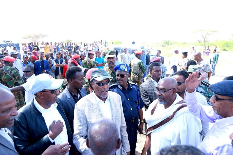 Madaxweynaha Somaliland Oo Ka Qayb-Galay Aaska Marxuum Axmed-Yaasiin Xaaji Abu-site