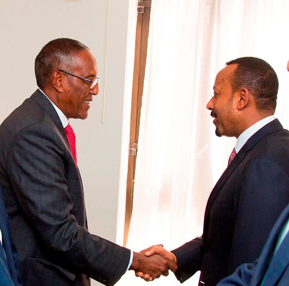 Somaliland Oo U Mahad Celisay Raysal Wasaaraha Ethiopia Iyo Madaxda Midawga Afrika