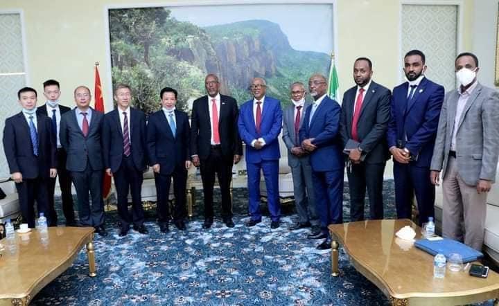 Madaxweynaha Somaliland Oo Kulan La Yeeshay Wefti Heersare Ah Oo Ka Socda Shiinaha