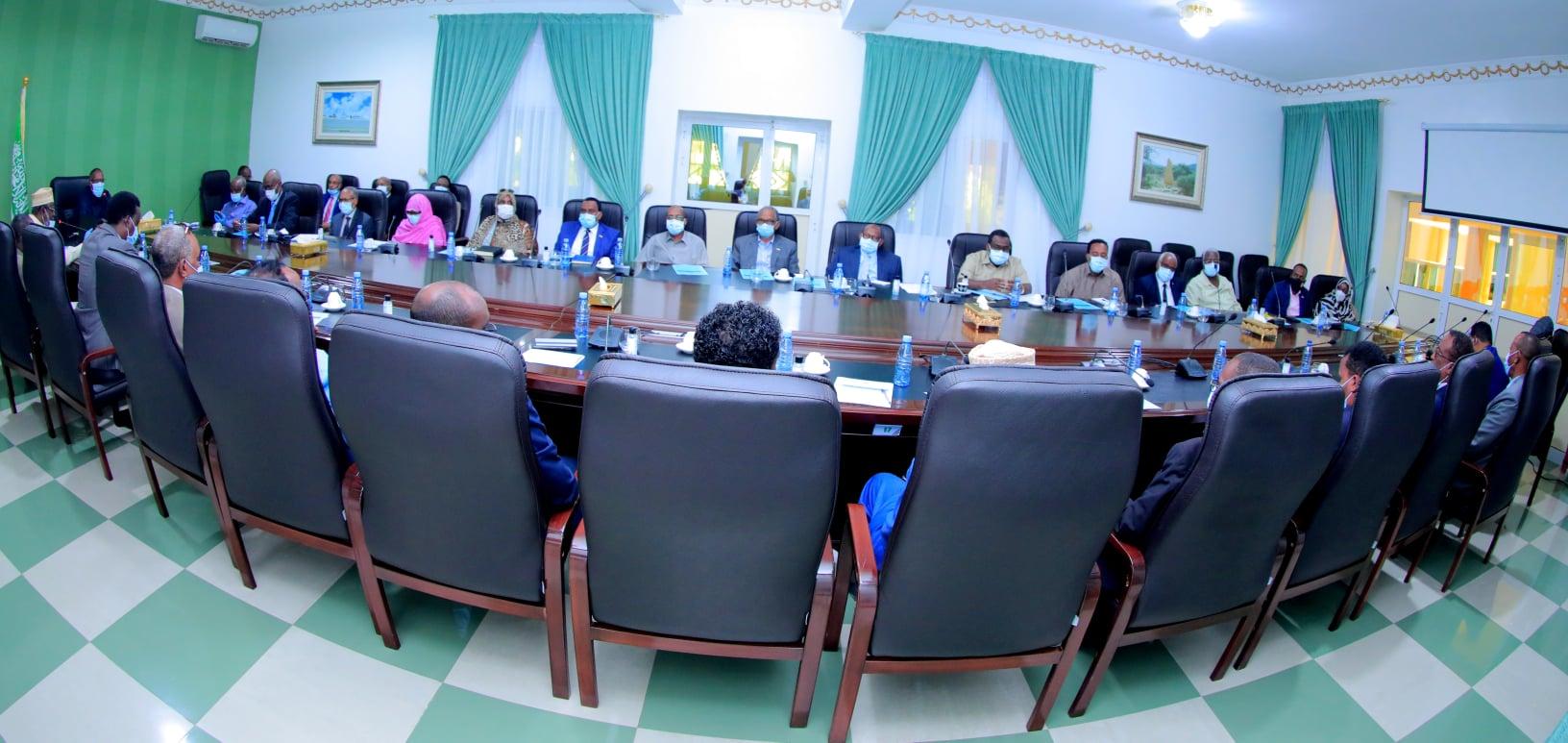 Golaha Wasiirrada Somaliland Oo Dood Ka Yeeshay Heshiiska Ay Wada-Gaadheen Soomaaliya Iyo Wakiilka UN-Ka