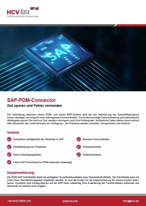 SAP-PDM-Connector