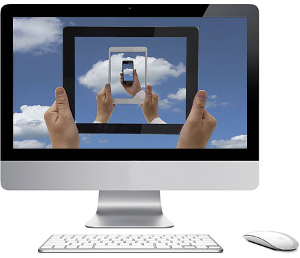 conference-call-e-videoconferenza-monitor