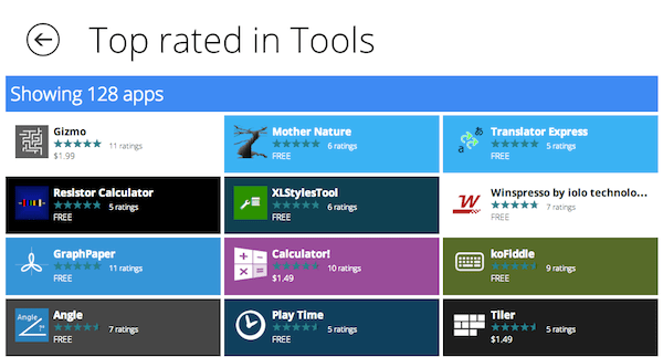 Great Windows Apps - Top