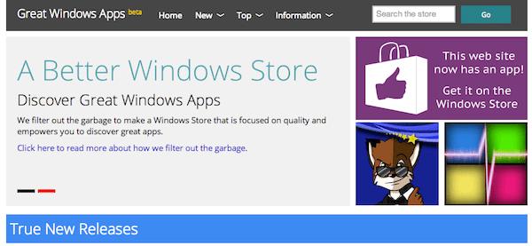 Great Windows Apps