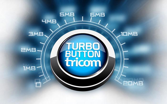 tricom-turbo-button