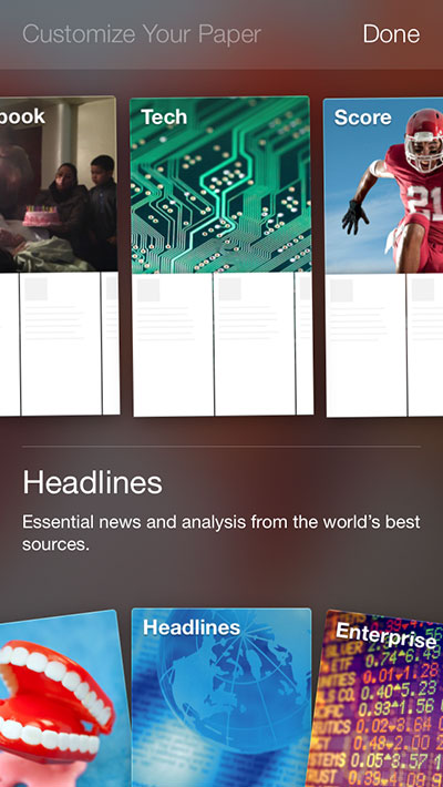 facebook-paper-sections
