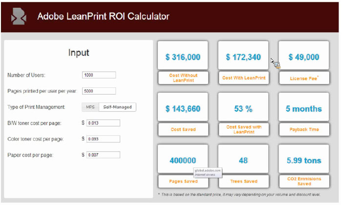 adobe-leanprint-roi-calculator