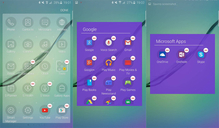 Eliminación de las apps preinstaladas del Samsung Galaxy S6.