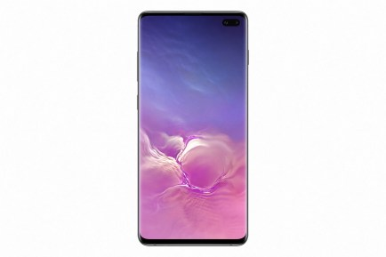 Galaxy S10+ Ceramic Black_front