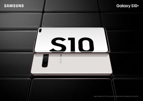 Galaxy S10+ Ceramic White