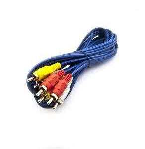 1.5 Meter High Quality AV Cable - Composite (Yellow RCA, Red/White Audio)