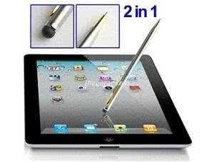 Soft-Touch Stylus & Pen for Ipad/Samsung Galaxy Tablet and other touchscreen phones or tablets