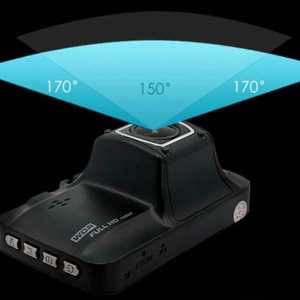 """FullHD 1080p 3"""" Display Car Dash Camera DVR / Driving Recorder with Infrared Night Vision, 170 Degrees Angle, Built-in Battery"""