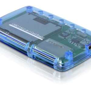 All-in-one MultiCard Reader for XD, SD/MMC, MS/MSPRO and CF/MD Memory Cards