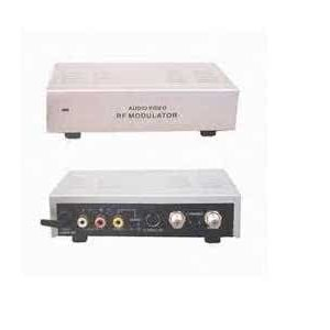 Stereo Digital Composite (Yellow) RCA to RF Converter (RCA to Aerial / RF Modulator) - PAL I with channel 21 - 69 selector